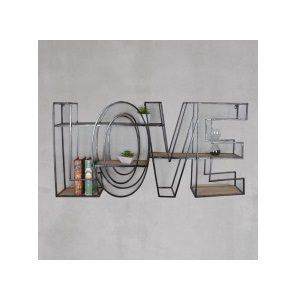 Επιτοίχια Ραφιέρα Love