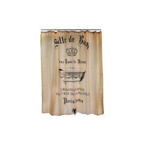Estia Υφασμάτινη Κουρτίνα Μπάνιου 180×180 Salle De Bain