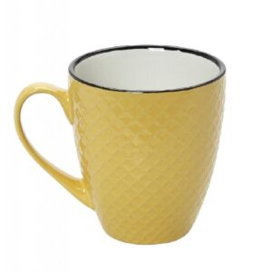 Espiel Κούπα Cookie Delight Jumbo Κίτρινη-Κρεμ Κεραμική 560CC