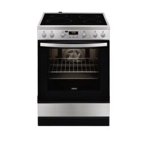 Zanussi Κουζίνα 72lt με Εστίες Κεραμικές ZCV65320XA