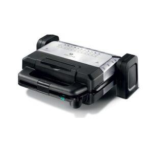 IQ ST-635 Τοστιέρα Γκριλιέρα με Αποσπώμενες Πλάκες για 2 Τοστ 2000W